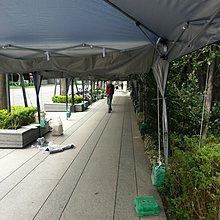 [兄弟牌戶外休閒傢俱] 3mx3m快速折疊遮陽帳--排水布~2頂帳連接處使用
