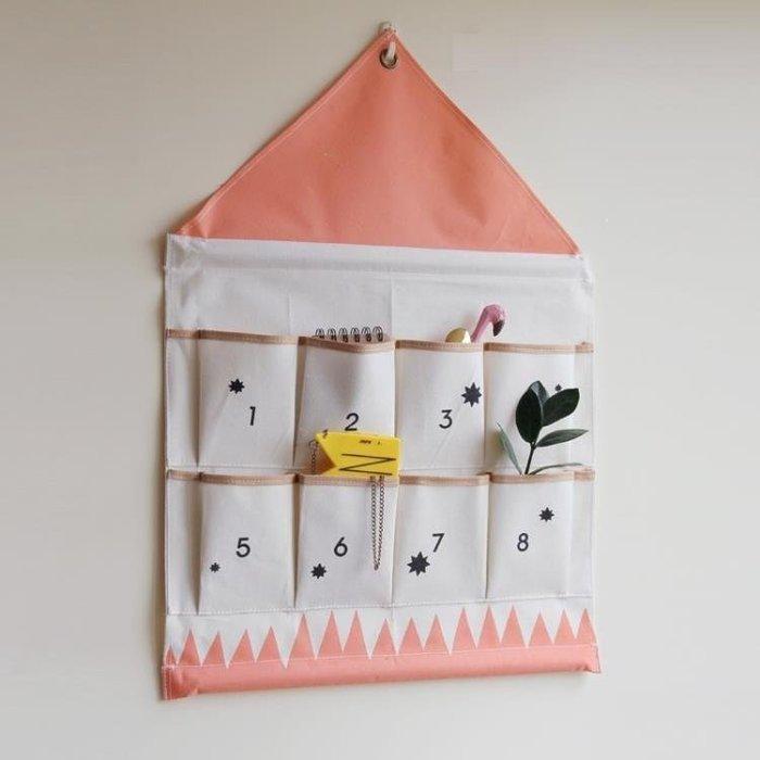 GOTSHOP 新北歐電表箱遮擋裝飾兒童房掛袋 大收納袋GO618
