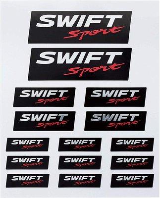 【翔浜車業】日本純㊣SUZUKI SWIFT SPORT 高級貼紙組(耐候處理)(日本製)