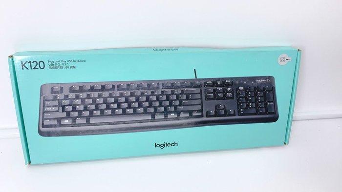羅技 Logitech K120 有線鍵盤 USB