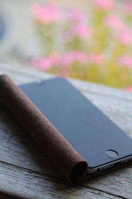 07015 TAKASHI手工皮件 APPLE iPhone 6s 5.5吋 卷書式(植鞣苯染真皮皮革) 現貨-手機皮套
