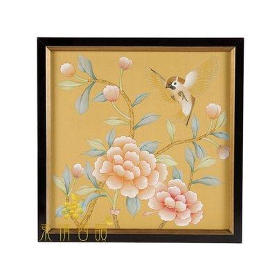 【芮洛蔓 La Romance】東情西韻系列手繪絹絲畫飾 CHB-003