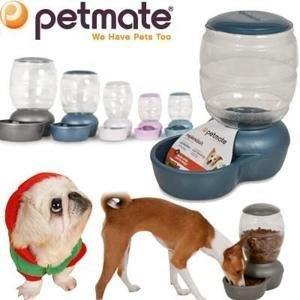 **貓狗大王**美國 Petmate《自動餵食器1公斤》pet Replendish feeder -M號