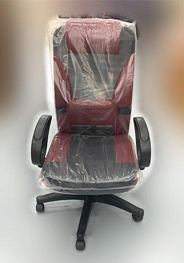 【宏品二手家具】全新 二手家具 家電買賣 EA7263AA*全新紅色大型透氣網OA椅* 洽談椅/等待椅/會議椅/電腦椅/