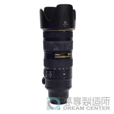 夢享製造所 Nikon AF-S NIKKOR 70-200mm f/2.8G ED VR II (小黑六)器材出租