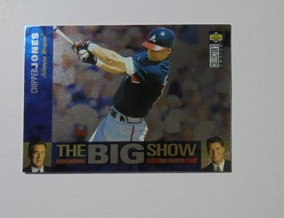 1997 Collector's Choice The Big Show #2 Chipper Jones