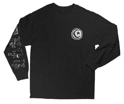 SKATEBOARDING 滑板店 FOUNDATION  滑板長袖T恤 ANKLE BITERS 買一送一