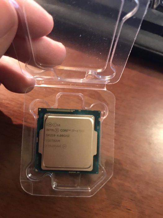 頂級CPU Intel i7 4790K (限時特價,賣完就沒有,PUBG吃雞、LOL、Overwatch)