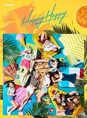 代購 特典IC卡貼付 初回限定盤A TWICE 周子瑜 Momo Sana HAPPY HAPPY CD+DVD 日盤