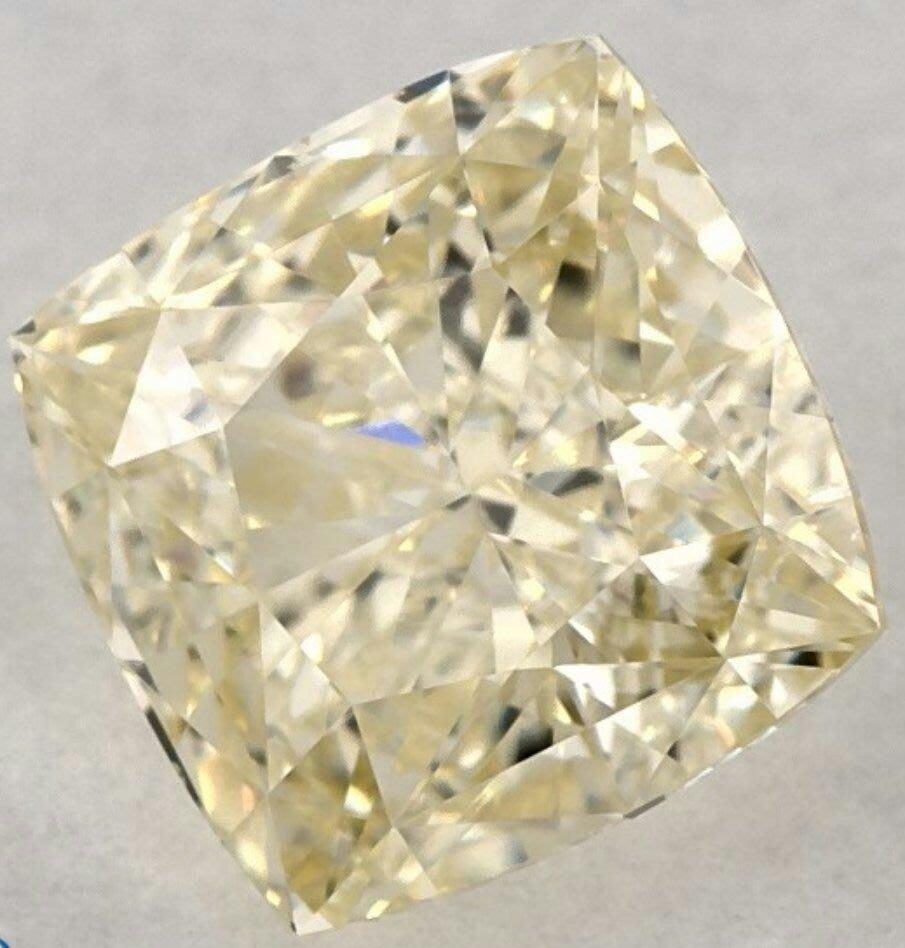 俐格鑽石珠寶批發 GIA 黃彩鑽 Fancy Light Yellow 1克拉 特價96,700
