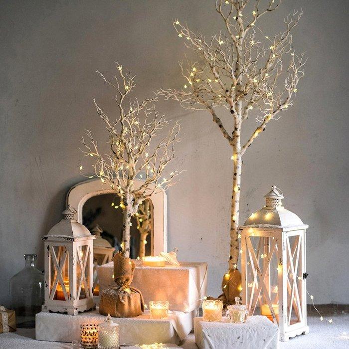 仿真禪意枯樹大型藝術裝飾樹枝干插花擺件花藝櫥窗陳列 聖誕節裝飾 聖誕禮物 新年佈置 掛飾 交換禮物