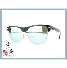 【RAYBAN】RB4175 877/30 金邊霧黑框 白水銀鏡面 雷朋太陽眼鏡 公司貨 JPG 京品眼鏡