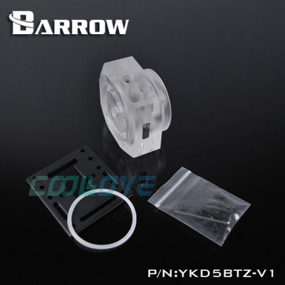 小白的生活工場*Barrow D5/MCP655/系列水泵專用改裝壓克力上蓋 YKD5BTZ-V1