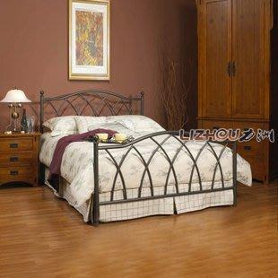 INPHIC-田園鐵藝床 品質 雙人床1.5 1.8 單人1.2 自然風 主臥床