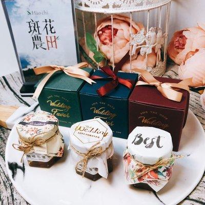 【斑花農田】台南東山國產在地優質龍眼花蜂蜜-囍蜜-婚禮小物-產地直銷-在地小農 - 罐裝28±5g-Wedding款