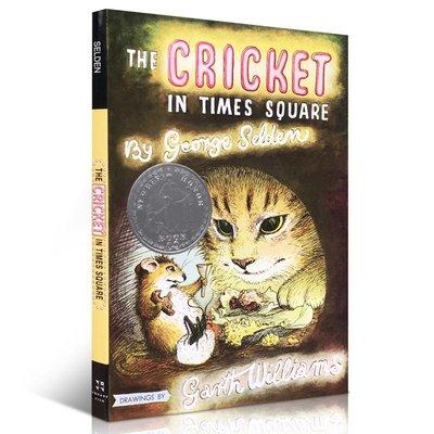 現貨 時代廣場的蟋蟀 英文原版 The Cricket in Times Square 1961年紐伯瑞銀獎 少年兒童讀