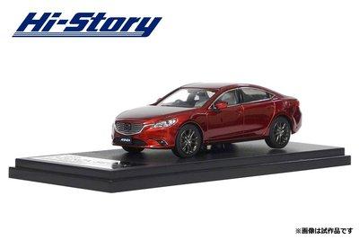 ~花男宅急店~~ ~ Hi Story Mazda 6 SEDAN 1:43 魂動紅 汽車模型 1 43