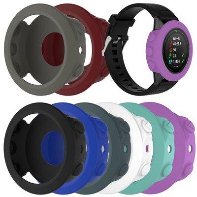 丁丁 佳明 Garmin Fenix 5 純色智能手錶錶盤防老化保護套 飛耐時 5 帶防塵塞 防磨損 錶盤保護外殼