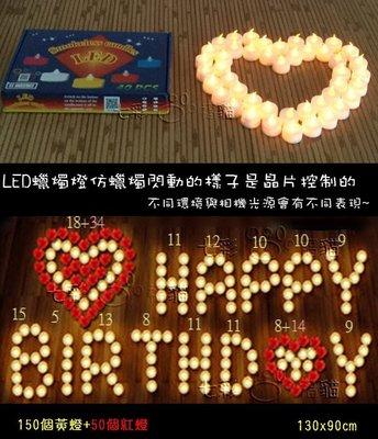 [七彩福貓] LED蠟燭燈 (內附長效電池+大量現貨) LED排字蠟燭, 電子蠟燭燈, 求婚 婚禮小物 生日 告白