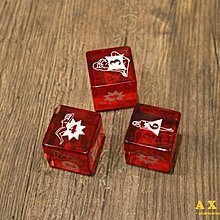 【AXE】GOOD WORTH- PIN UP DICE SET骰子 三入 飾品帽子美牌美製復刻質感