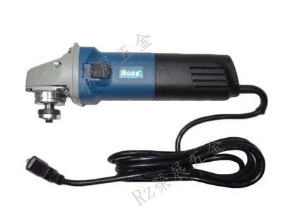 【榮展五金】BOSS 4吋 變速可調速砂輪機 100mm YY04-100A 平面砂輪機 研磨切割機 電動砂輪機 手持式