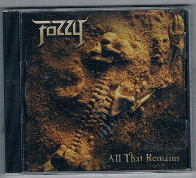 [鑫隆音樂]西洋CD-Fozzy:All That Remains  { MVP62967 }    全新
