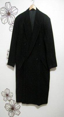 日本製.黑CASHMERE喀什米爾80羊毛長大衣H&M.Tommy.POLO.A&F.LEVI.ARMANI.無印.ca
