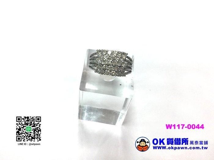 【OK質借所-萬泰當舖】天然鑽石戒指-約1.12CT