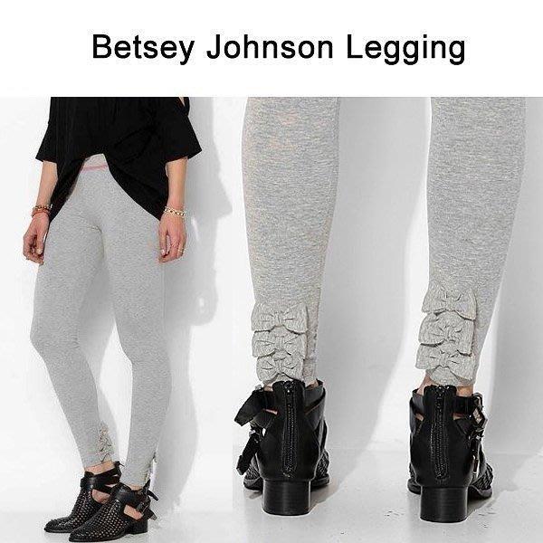 。simple。美國 品牌 Betsey Johnson 蝴蝶結  內搭褲