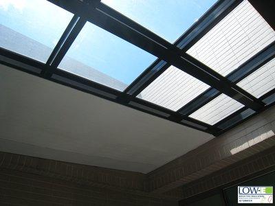 玻璃屋屋頂隔熱_美國進口Low-E鋁隔墊,省電、節能、環保、減碳