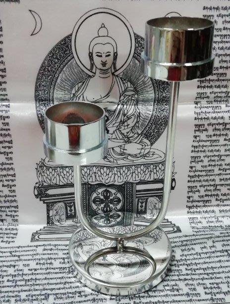 轉運蠟燭專用燭台(一座)(一次可點2支祈求2種心願)