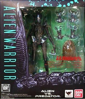 日本正版 萬代 S.H.MonsterArts SHM 異形士兵 模型 公仔 日本代購