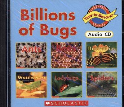 *小貝比的家*BILLIONS OF BUGS/單CD/7~12歲