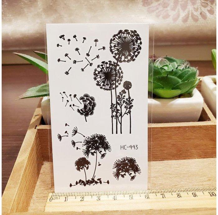 【萌古屋】黑色小圖騰 - 男女防水紋身貼紙刺青貼紙HC-443