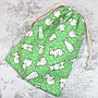 浪漫派飾品 H106 兔子不吃窩邊草 環保袋 收...