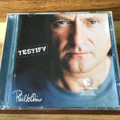 [老搖滾典藏] Phil Collins-Testify 德版專輯