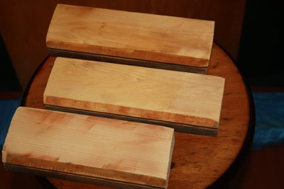 [DIY] _塊料A_可做小盒子_舊檜木_尺寸_18cm x 6cm x 3cm (取最小值) _3隻一組_ 隨機出貨