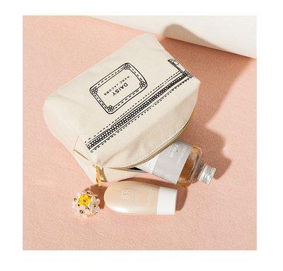 ☆Eric Zakka☆Marc Jacobs 香水專櫃贈品 帆布手拿包 化妝包 收納包【現貨】JL0498