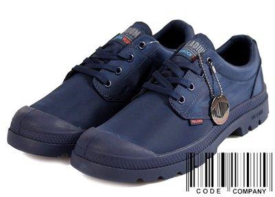 =CodE= PALLADIUM PAMPA OX PUDDLE LT+ WP 防水輕量軍靴(深藍)76116-400男