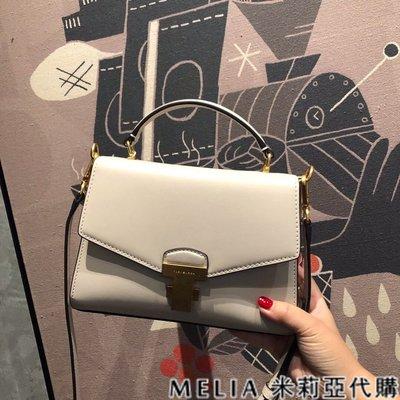 Melia 米莉亞代購 Tory Burch TB 0219 19ss JULIETTE系列 單肩包 復古銅金扣 白色