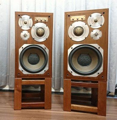 【Accuman】Diatone DS-303 旗艦四音路書架喇叭(天然磁鐵)
