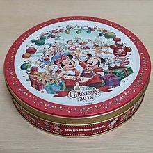 日本迪士尼 耶誕 鐵盒 迪士尼鐵盒 圓鐵盒 收納盒