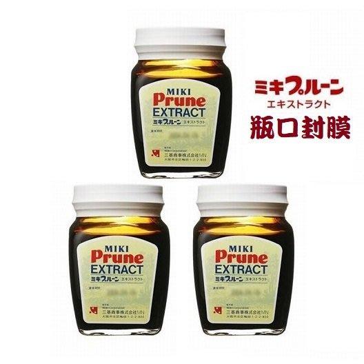 日本三基(MIKI) 天然棗精X3罐 松柏營養補助食品 助排便 美妝保養 機能保健食品 (最新效期2022.2.4)