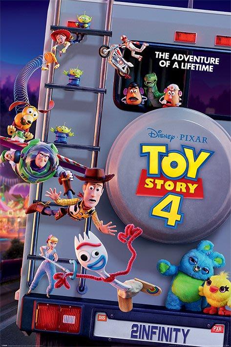 英國進口海報 PP34503(玩具總動員4 Toy Story 4)