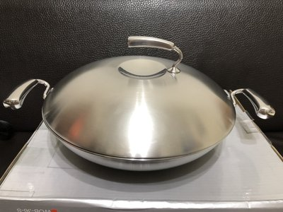 THERMOS 膳魔師經典鍋  WOB系列 雙耳炒鍋 36cm 少用,近全新