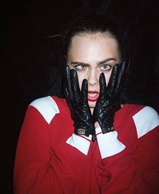 Chanel ❤️ 明星款 羊皮 手套 #7