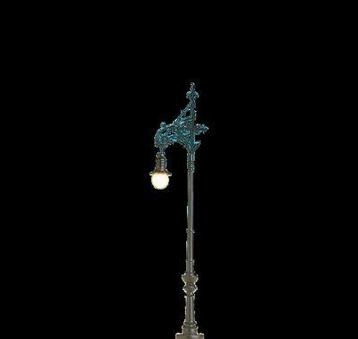 傑仲 博蘭 BRAWA 燈具組 Lamp Berlin-Charlottenburg (LED) 84064 HO