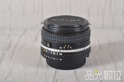 【台中品光攝影】NIKON AIS 28mm F2.8 手動對焦 老鏡 廣角 #94555T