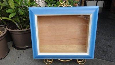 ~ 伊莎貝拉 ~  水藍色立體框  型號#403-21-26-4  $580元