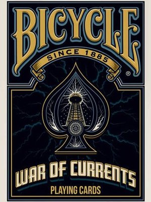 【USPCC撲克】THE WAR OF CURRENTS PLAYING CARDS 戰爭趨勢